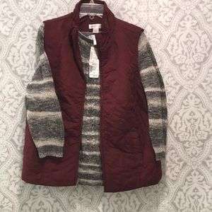 Sweater and vest combo! New with tag!